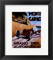 Framed Monte Carlo Grand Prix