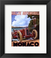 Monaco Rallye Framed Print