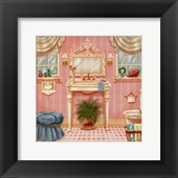 Framed Powder Room III