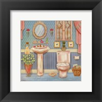 Powder Room IV Framed Print