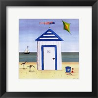 Beach House 1 Framed Print