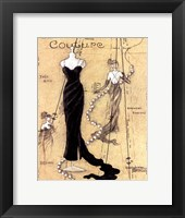Couture I Framed Print