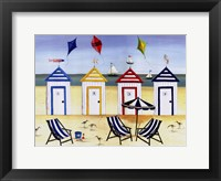 Framed Beach Houses