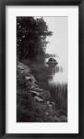 Acadian Lake Framed Print