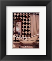 Bath I Framed Print