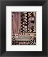 Bath II Framed Print
