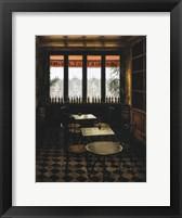 Framed Interieur Bistrot a vin