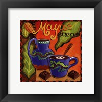 Mayan Chocolate Framed Print