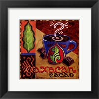 Framed Oaxacan Chocolate