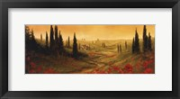 Toscano Panel II Framed Print