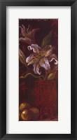 Framed Oriental Lily