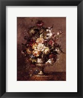 Framed Floral Decadence