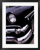 Tail Fins And Two Tones II Framed Print