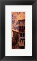 Framed Venice Sunset I