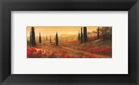 Toscano Panel I Framed Print