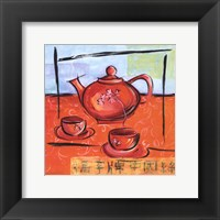 Framed Asian Tea Set II
