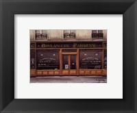 Framed Boulangerie Parisienne