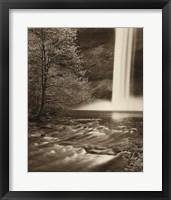 Framed South Falls