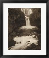 Framed White River Falls