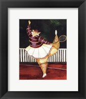 Backhanded Betty Framed Print