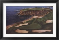 Framed Course On The Cliffs
