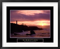 Framed Direction - Lighthouse