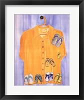 Framed Hawaiian Shirt - Slippahs