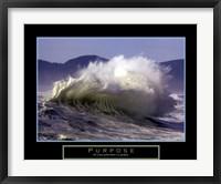 Framed Purpose - Wave