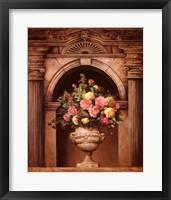Floral Arch I Framed Print