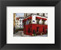 L' Echaude St Germain Framed Print