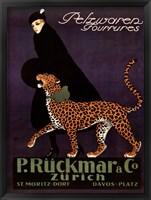Framed P Ruckmar C, 1910