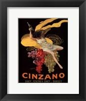 Cinzano, 1920 Framed Print