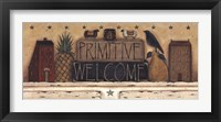 Framed Primitive Welcome