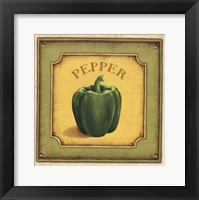 Pepper Framed Print