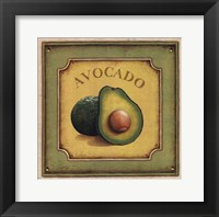 Avocado Framed Print