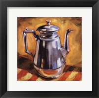 Framed Tea Pot I