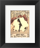 Framed Le Frou-Frou
