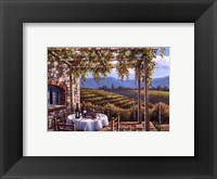 Framed Vineyard Terrace