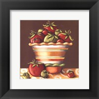Framed Tomatoes In A Bowl