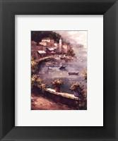Framed Italian Harbor