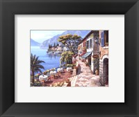 Overlook Cafe II Framed Print