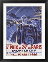 Framed Grand Prix De Montlhery