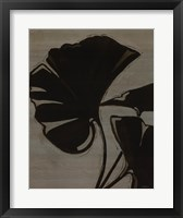 Platinum Shadow IV Framed Print