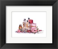 Scent Of Rose Framed Print