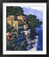 Framed Cove At Portofino
