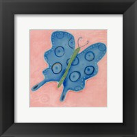 Groovy Butterfly Framed Print