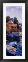 Framed Lake Como Crossing Panel II