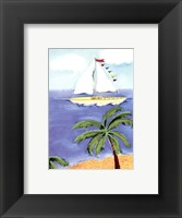 Framed Sail Away