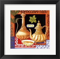 Framed Moroccan Tea