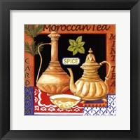 Moroccan Tea Framed Print